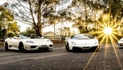 Exclusive Events Hire Sydney - Lamborghini, Porsche, Ferrari & Mercedes