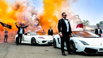 Exclusive Events Hire Sydney - Ferrari, Lamborghini,