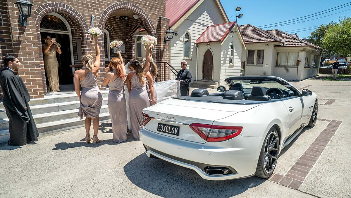 Exclusive Maserati GranCabrio Wedding Hire Car