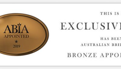 Australian Bridal Industry Academy Bronze Partner